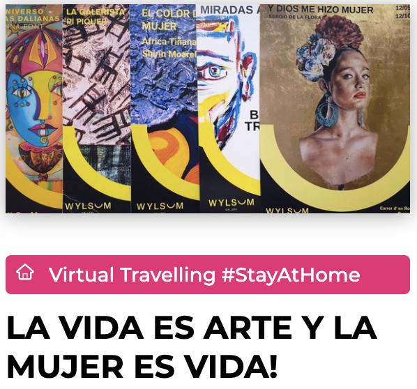 Ruta Virtual de Wylsum Gallery con Explorins En tiempos de confinamiento