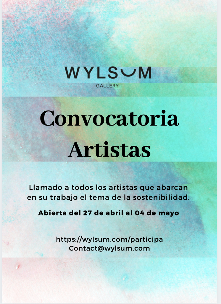 Convocatoria para artistas