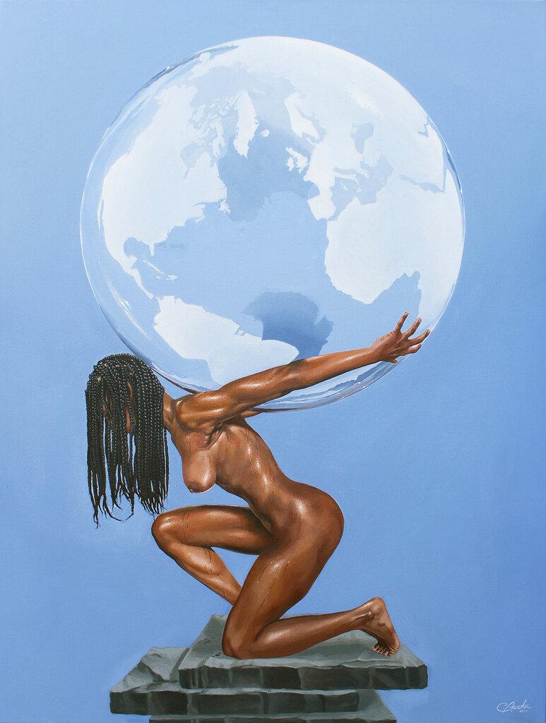 Cuadro The Black Woman's Burden